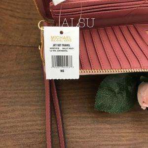 Michael Kors Bags - Michael Kors Large Wallet Continental Rose Multi